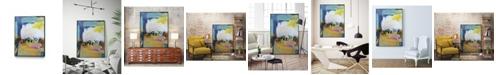 "Giant Art 24"" x 18"" Became Mucho II Art Block Framed Canvas"