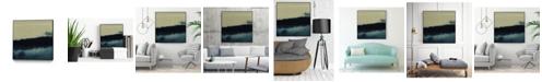 "Giant Art 30"" x 30"" Water II Art Block Framed Canvas"