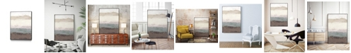 "Giant Art 40"" x 30"" Strata Horizon I Art Block Framed Canvas"