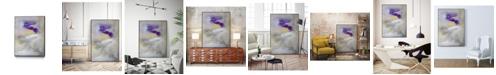 "Giant Art 24"" x 18"" Swept Away II Art Block Framed Canvas"