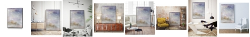 "Giant Art 24"" x 18"" Escaping Light II Art Block Framed Canvas"