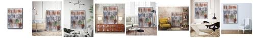 "Giant Art 20"" x 16"" Paint Scribble II Art Block Framed Canvas"