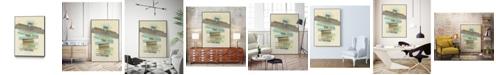 """Giant Art 40"""" x 30"""" Balancing II Art Block Framed Canvas"""