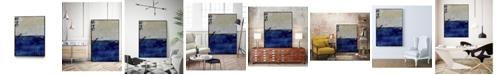 "Giant Art 20"" x 16"" Beach 45 I Art Block Framed Canvas"