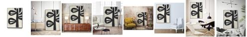 "Giant Art 40"" x 30"" Symbiotic V Art Block Framed Canvas"