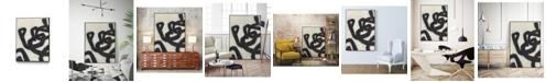 "Giant Art 32"" x 24"" Symbiotic I Art Block Framed Canvas"