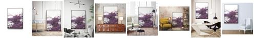"Giant Art 28"" x 22"" Wave IV Art Block Framed Canvas"