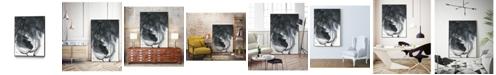 "Giant Art 14"" x 11"" Broken Abstract I Art Block Framed Canvas"