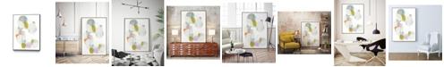 """Giant Art 28"""" x 22"""" Shift Change I Art Block Framed Canvas"""