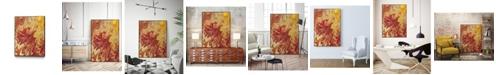 """Giant Art 14"""" x 11"""" Nomadic Blaze II Art Block Framed Canvas"""