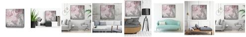 "Giant Art 20"" x 20"" Blush Minerals I Art Block Framed Canvas"