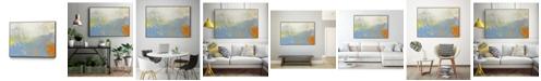 "Giant Art 28"" x 22"" Lux II Art Block Framed Canvas"