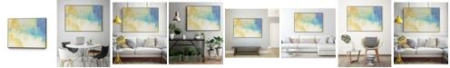 "Giant Art 36"" x 24"" Lux I Art Block Framed Canvas"