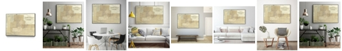 """Giant Art 14"""" x 11"""" The Return Art Block Framed Canvas"""