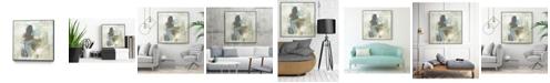 "Giant Art 30"" x 30"" Mod Occlusion II Art Block Framed Canvas"