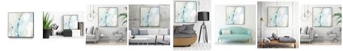 "Giant Art 20"" x 20"" Sea Story IV Art Block Framed Canvas"