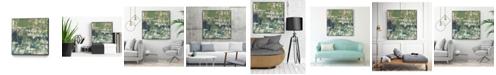 "Giant Art 20"" x 20"" Obscured Horizon I Art Block Framed Canvas"