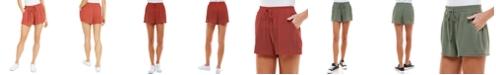 Be Bop Juniors' Solid Pom Pom Shorts
