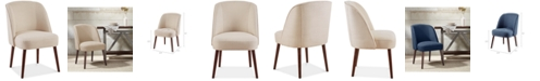 Furniture Bradley Rounded Back Dining Chair
