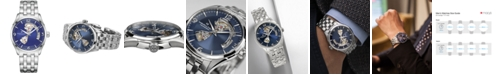 Hamilton Men's Swiss Jazzmaster Stainless Steel Bracelet Watch 42mm