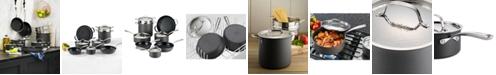 Lagostina Nera Nonstick 12-Pc. Cookware Set