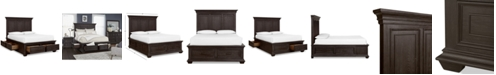 Furniture Hansen Storage King Bed, Created for Macy's