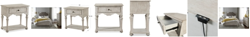 Furniture Closeout! Hadley USB Outlet Nightstand, Created for Macy's