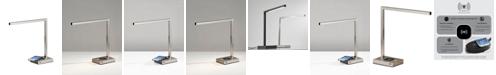 Adesso Aidan Wireless Charging LED Desk Lamp