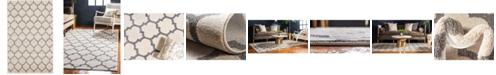 Bridgeport Home Arbor Arb1 Beige/Gray 5' x 8' Area Rug