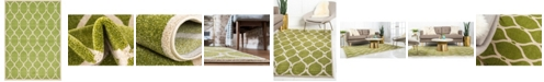 Bridgeport Home Arbor Arb6 Green 7' x 10' Area Rug