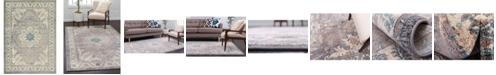 Bridgeport Home Bellmere Bel2 Gray 7' x 10' Area Rug