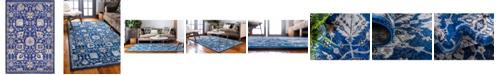 Bridgeport Home Wisdom Wis1 Blue 4' x 6' Area Rug