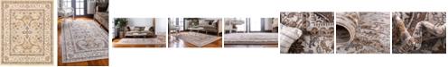 Bridgeport Home Wisdom Wis2 Ivory 8' x 10' Area Rug