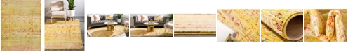 Bridgeport Home Malin Mal8 Yellow 9' x 12' Area Rug