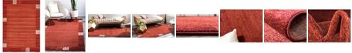 "Bridgeport Home Lyon Lyo1 Rust Red 8' x 11' 4"" Area Rug"