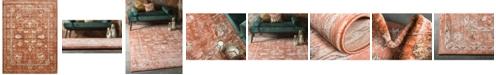 Bridgeport Home Masha Mas3 Terracotta 10' x 13' Area Rug