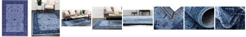 Bridgeport Home Aldrose Ald4 Blue 8' x 11' Area Rug