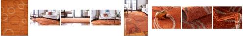 Bridgeport Home Jasia Jas05 Terracotta 9' x 12' Area Rug