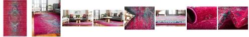 Bridgeport Home Brio Bri6 Pink 4' x 6' Area Rug