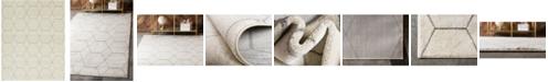 Bridgeport Home Plexity Plx1 Ivory 8' x 10' Area Rug