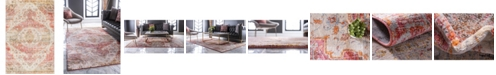 Bridgeport Home Agostina Ago2 Multi 4' x 6' Area Rug