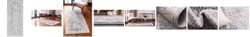 "Bridgeport Home Aitana Ait2 Gray 2' 7"" x 6' Area Rug"