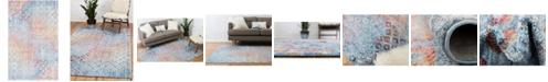 """Bridgeport Home Prizem Shag Prz2 Blue 3' 3"""" x 5' 3"""" Area Rug"""