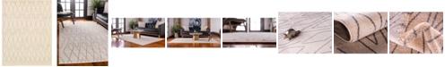 Bridgeport Home Fio Fio1 Ivory 9' x 12' Area Rug