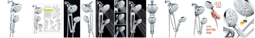 HotelSpa Aquabar High-Pressure 48-mode Shower Spa Combo with Adjustable Extension Arm