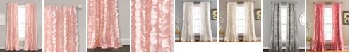 "Lush Decor Belle Ruffle 54"" x 84"" Window Panel"