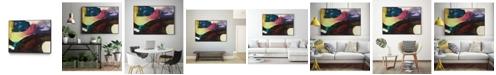 "Giant Art 20"" x 16"" Obsession I Art Block Framed Canvas"