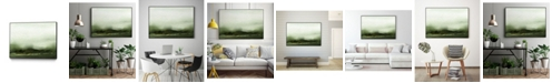 "Giant Art 24"" x 18"" Verdant III Art Block Framed Canvas"