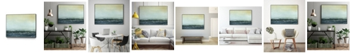 "Giant Art 24"" x 18"" Sea View VI Art Block Framed Canvas"