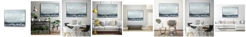 "Giant Art 28"" x 22"" Sea View IV Art Block Framed Canvas"